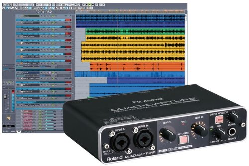 Sale!! Roland QuadCapture Audio Interface
