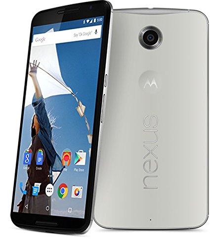 Google Nexus 6 グローバル版 XT1100 並行輸入品 (32GB, ホワイト White 白) Light Grey