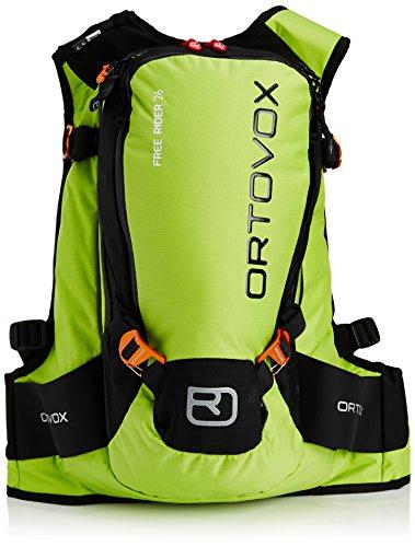 Ortovox Lawinenrucksack Free Rider 18, happy green, 55 x 27 x 20 cm, 26 litres, 4674200002