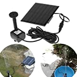 TSSS®Power Panel solar-powered decorative fountain for Pool Garden Watering