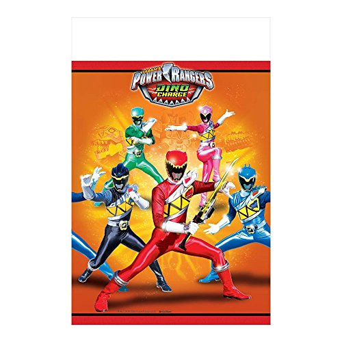 Power Rangers Dino Charge Plastic Tablecover