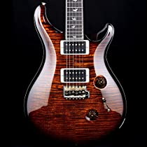 PRS 30th Anniversary Custom 24 with 10 Top in Black Gold, Regular Flamed Maple Neck