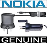 Genuine Nokia 100 Mobile Phone Mains Wall Charger 3 Pin (UK)