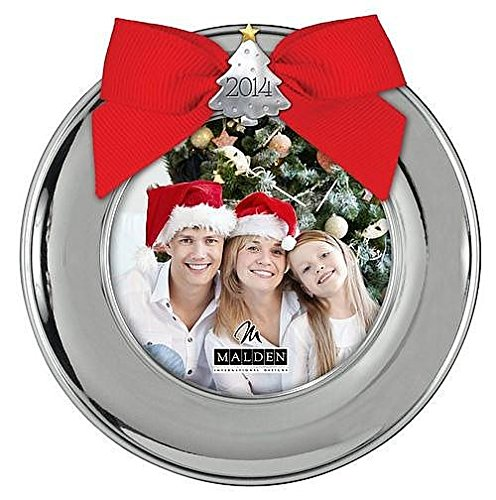 christmas 2014 silver tree picture frame ornamentbuy now