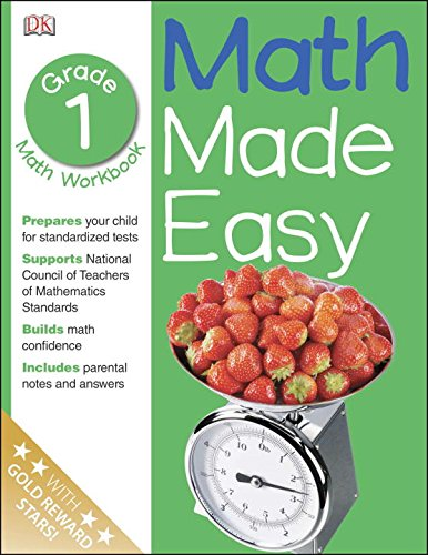 Math Made Easy: 1st Grade Workbook, Ages 6-7, Sue Phillips