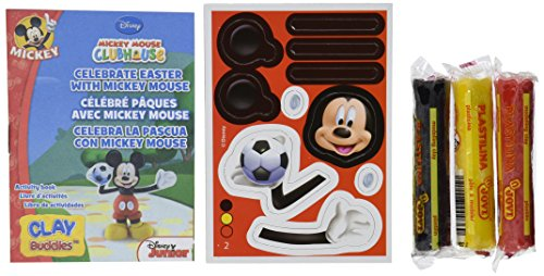 Giromax Mickey Mouse Clubhouse Blister Clay Buddies Pack - 1
