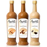 Amoretti Premium Syrups Creamy Classic 3 Pack