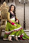 Green Georgette & Net Salwar Kameez