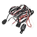 H3/55W Halogen Fog Lamp Light Wiring Controller Kit 12V 40A
