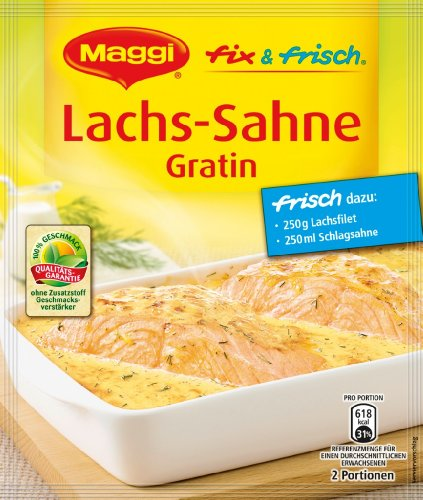 Maggi Fix & Fresh Salmon Cream Gratin