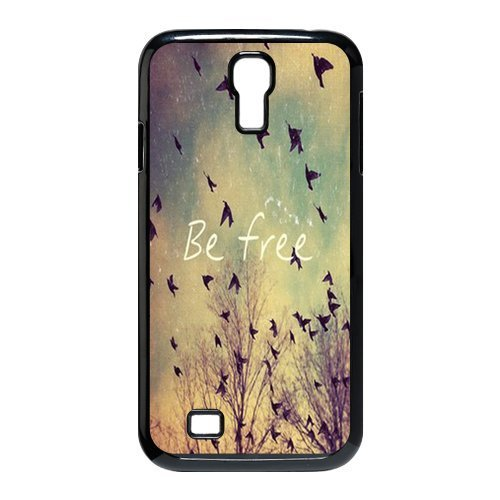 Be Easy Birds Cute Quote Retro Collector Samsung Galaxy S4 9500 Best Durable The truth + Free Wristband Accessory