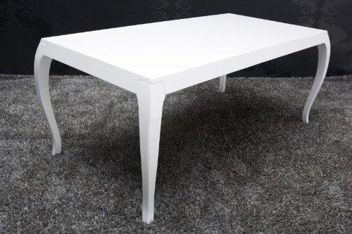 Esstisch Barock Weiß