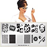 MoYou-London Nail Art Image Plate Pro XL Collection - 15