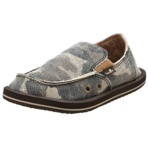 Sanuk Little Kid/Big Kid Army Brat Slip-On,Camouflage,12 M Us Little Kid front-941770