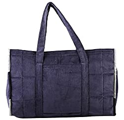 Marmitte Women's 100% Polyester and cotton Velvet Bag