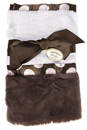 Bearington Baby - Posh Dots Security Blanket (Pink)