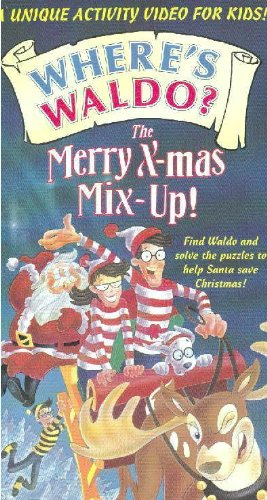 Where's Waldo? The Merry X-Mas Mix-Up! (Merry Mix Up Movie compare prices)
