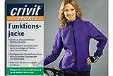 Crivit Sports® Damen Funktionsjacke - Wasserabweisend & Atmungsaktiv - Ultraleicht