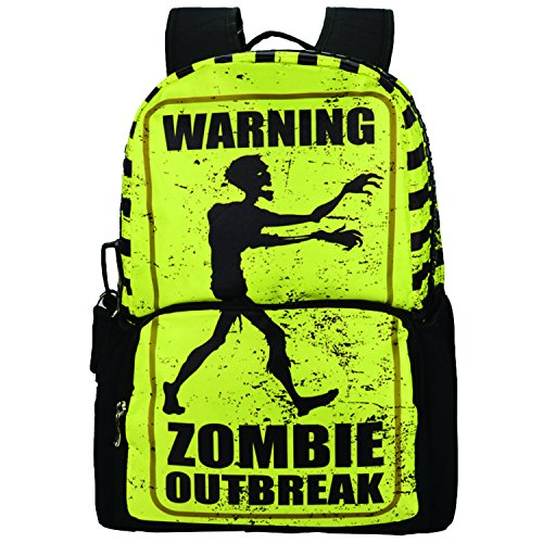 bistar-galaxy-zombie-printing-school-bags-college-girls-rucksack-for-teenage-boys-backpack-bag-yello