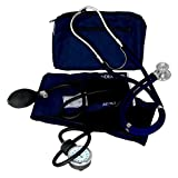 Dixie Ems Blood Pressure and Sprague Stethoscope Kit (BLUE)