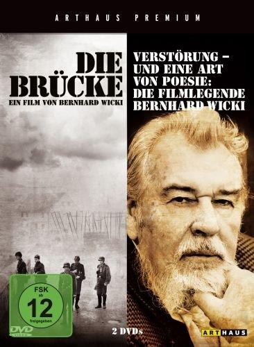 Die Brücke / Verstörung - Und eine Art von Poesie: Die Filmlegende Bernhard Wicki (Arthaus Premium Edition; 2 DVDs)