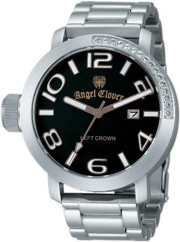 Angel Clover (エンジェルクローバー) 腕時計 LEFT CROWN レフトクラウン LC45SBW メンズ
