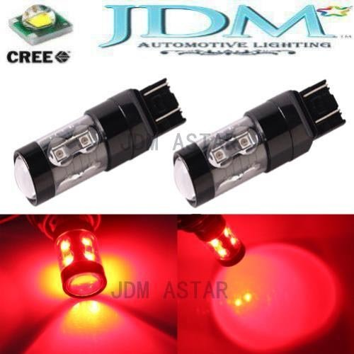 Jdm Astar Extremely Bright Max 50W High Power 7440 7441 7443 7444 992 Led Bulbs ,Brilliant Red