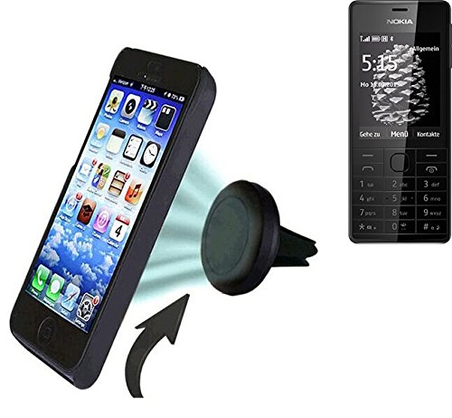 Universal-Auto-Handy-GPS-Navigationsgert-Halterung-zB-fr-Nokia-515-mini-KFZ-Halterung-Lftungsgitterhalterung-magnetischer-Handy-Halter-Air-Vent-magnetische-Smartphone-Halterung-Leicht-anzubringende-ko