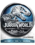Jurassic World Limited Edition Packaging (Round Tin) [Blu-ray + DVD + Digital HD] (Bilingual)