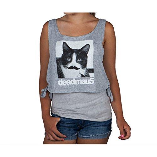 Deadmau5 Mustache Cat Womens Tank Large (Mustache Merchandise compare prices)
