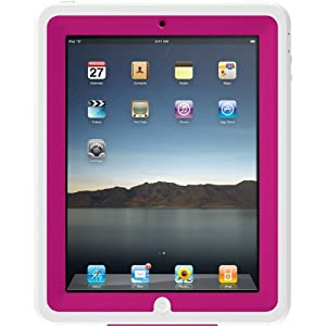 Otterbox Defender Case for the Original iPad (Hot Pink Plastic/White Silicone)
