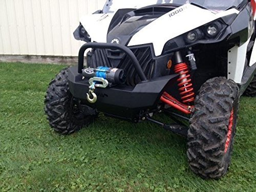 2012-2015-Can-Am-Maverick-and-MAX-Front-Brush-Guard-with-winch-mount-12629-by-Extreme-Metal-Products