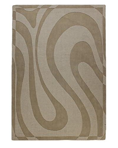 Bashian Wool Tufted Rug, Beige, 5' x 7' 6
