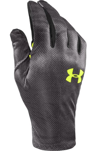 Under Armour Men's UA Super Softshell Pipe Gloves,Black,L