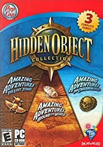 Amazing Adventures Bonus 3 Pack: Lost Tomb, Around The World & The Caribbean Secret
