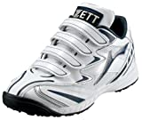ZETT(ゼット) トレーニングシューズ/ランゲット ホワイト×ネイビー  BSR8163J 1129 ランキングお取り寄せ