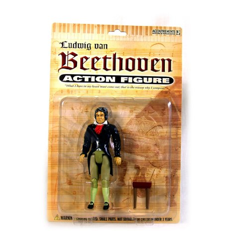 Accoutrements Beethoven Action Figure (Beethoven Action Figure compare prices)