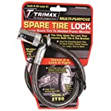 Trimax ST30 Trimaflex Spare Tire Cable Lock (Round Key) 36