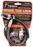 51%2BqvxtGEEL. SL160  Trimax ST30 Trimaflex Spare Tire Cable Lock (Round Key) 36 x 12mm