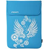 8 - 10.1 inch Blue Angel Wings Netbook Notebook Laptop Sleeve Bag Carrying Case for iPad, Acer, ASUS, Dell, HP ~ MyGift