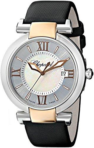 Chopard Women's 388532-6001_LBK Imperiale Black Leather Strap Watch