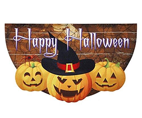 Ganz Happy Halloween Rubber Doormat