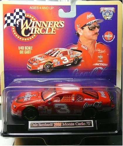 Winner's Circle - Dale Earnhardt 1998 Monte Carlo - 1/43 Scale Die Cast - 1