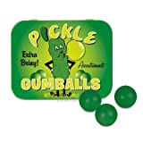 SNACK FOOD BUBBLEGUM Triple Sampler Gift Pack- Pickle Gumballs, Cupcake Gumballs & Cinema Gumballs