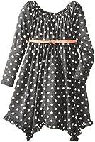 Bonnie Jean Big Girls' Hanky Hem Knit Dress