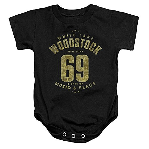 Woodstock - White Lake - One-Piece Infant Snapsuit - 24 Months (Joe Cocker Merchandise compare prices)