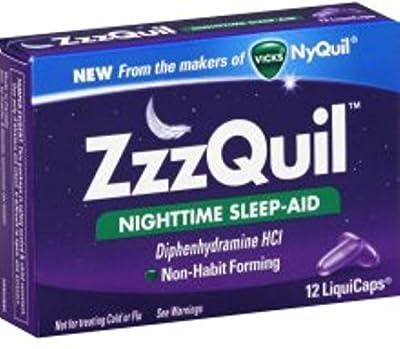ZzzQuil Nighttime Sleep-Aid, LiquiCaps 12 ea