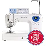 Janome Memory Craft 6300 Professional Sewing & Quilting Machine w/ FREE BONUS Value Package