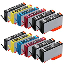 Valuetoner Remanufactured Ink Cartridge Replacement for New Generation Hewlett Packard HP 564XL (4 Black, 2 Cyan, 2 Magenta, 2 Yellow, 2 Photo Black)