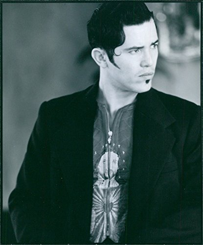 [Vintage photo of Portrait of John Leguizamo in the film of Romeo and Juliet. 1996] (Juliet Capulet Costume)
